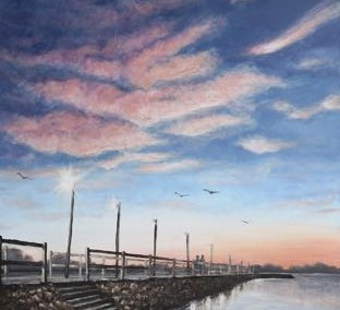 Wynnum Jetty, Manly [SOLD]